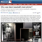 MLB: Best Black Baseball Pitcher?