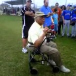 Monte Irvin Speaking to Fans